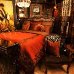 Aubry Handpainted Silk Velvet Bedding