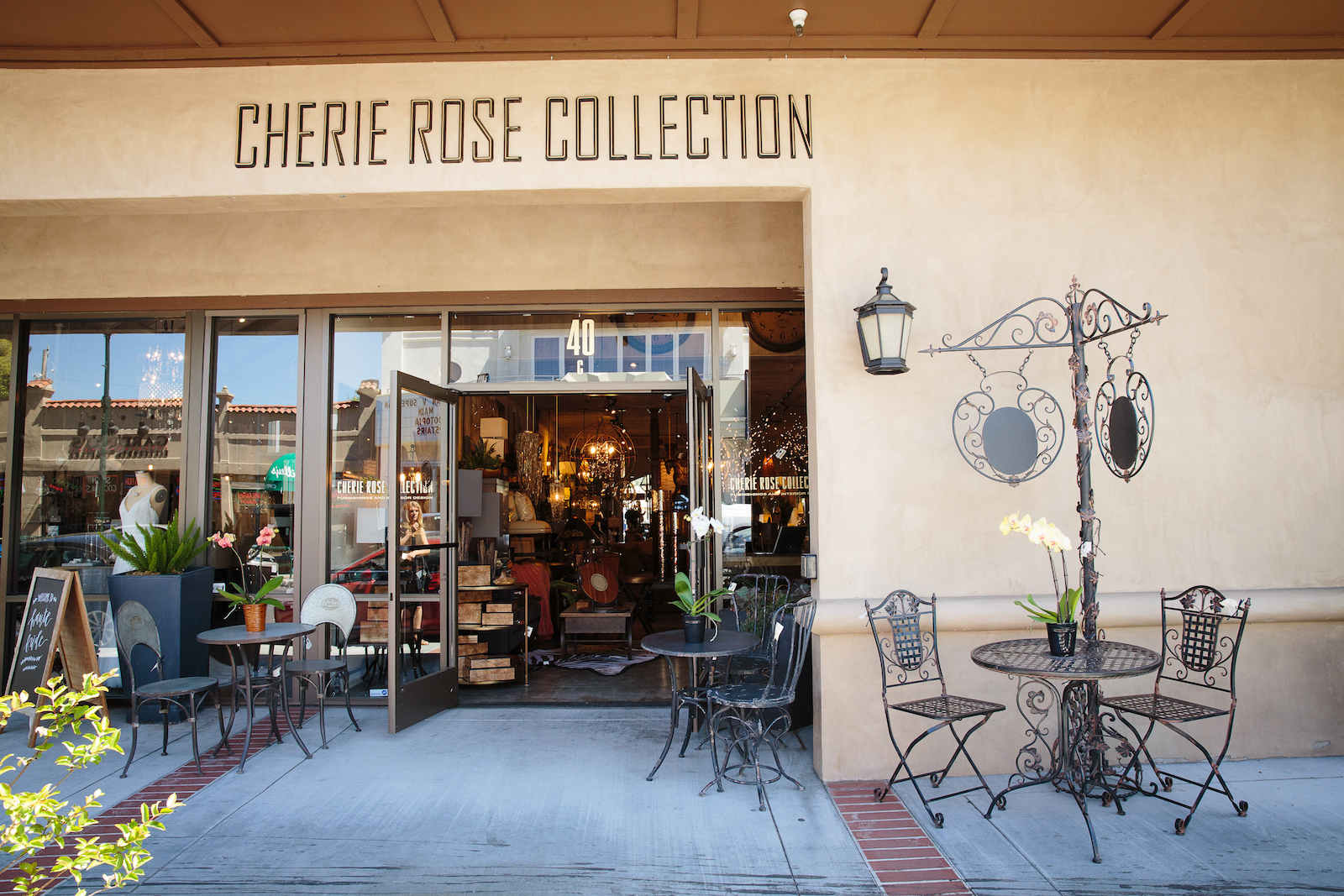 Front facade of the Cherie Rose Collection